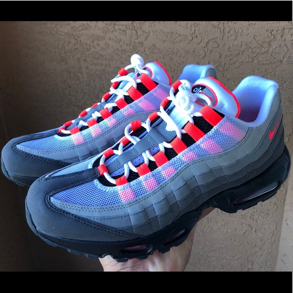 info for be68d 21e5a Nike Air Max 95 OG AT2865-100 White SolarRed 9.5